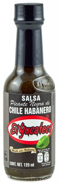 Salsa Habanero Black Label Reserve 120 ml