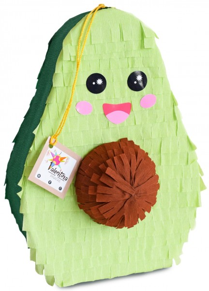 Pinata mini Avocado (ca. 25x27x15 cm)