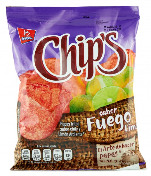 Chips Fuego 46 g
