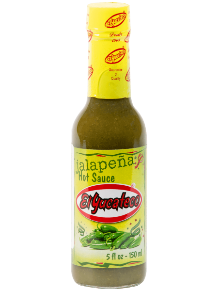Salsa Jalapeno El Yucateco 150 ml