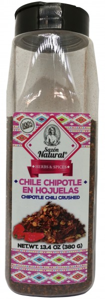Chili Chipotle in Flocken Sazon Natural 380 g