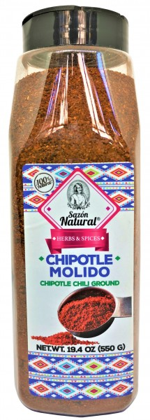 Chili Chipotle gemahlen Sazon Natural 550 g