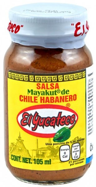 El Yucateco Mayacut Hot Sauce 105 ml